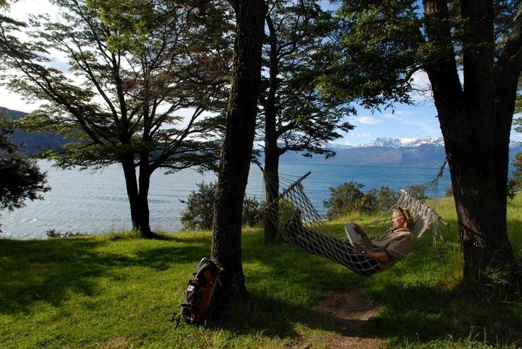 Mochiliando en el sur de Chile