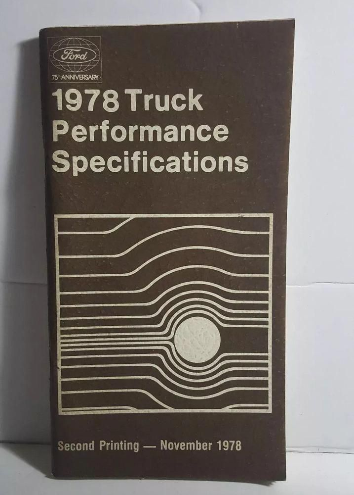 ford truck book