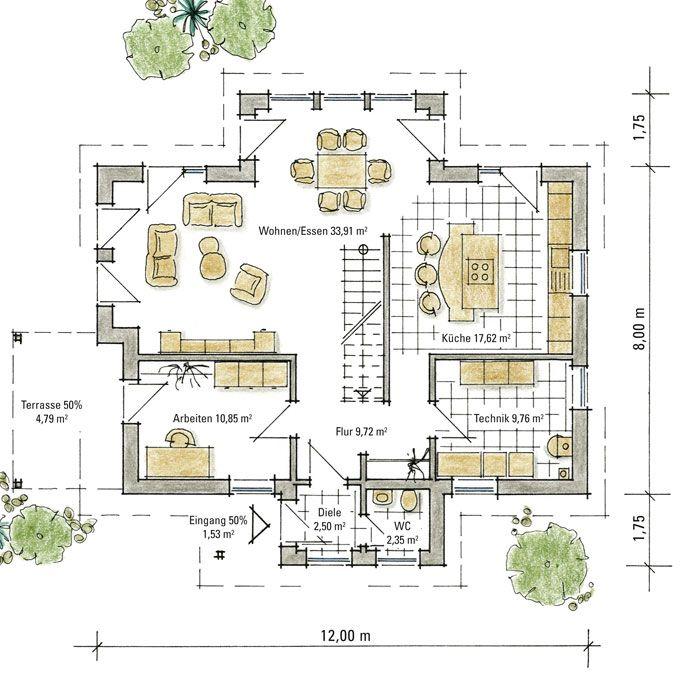 148 besten Grundrisse Bilder auf Pinterest | Haus design ...