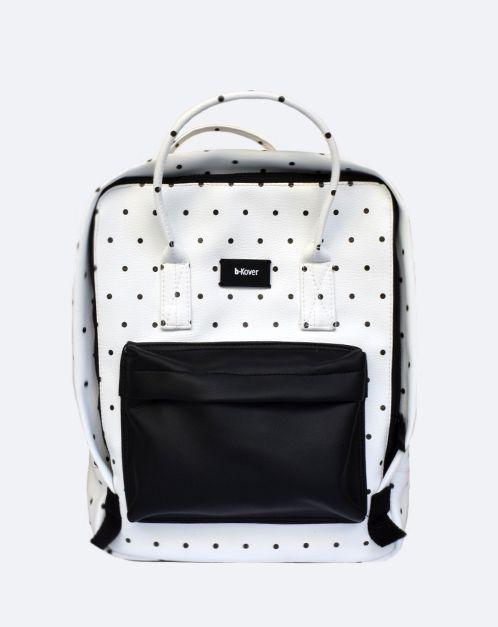 Mochila Ecopiel topos | Comprar mochila rectangular
