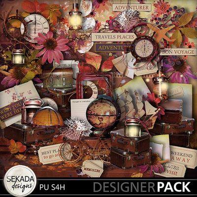 Autumn Memories Full Kit, a digital scrapbooking kit from MyMemories Digital Scrapbooking.