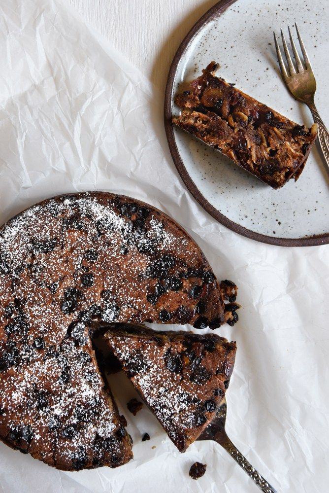 Christmas cake without egg recipe