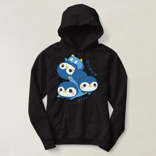 Pokemon Piplup Custom Hoodie