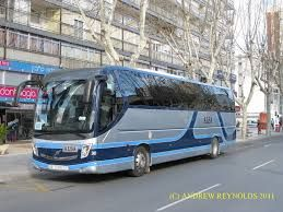 Alsa buses go all around Benidorm and to all near by airport