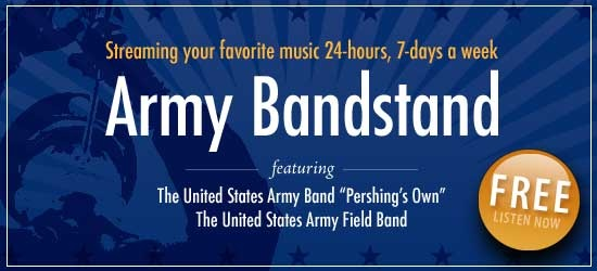 U.S Army Band Pershing's Own - free music all the time! #music #army