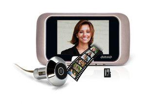 Elektroniczny wizjer do drzwi z funkcją nagrywania ORNO OR-WIZ-1101 - ORNO POLSKA