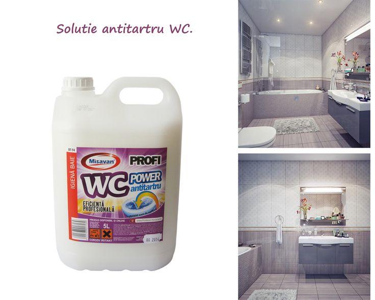Indeparteaza fara efort depunerile de tartru de pe vasul de toaleta: http://www.produse-horeca.ro/baie/solutie-antitartru-5l #curatenie #antitartru #misavan