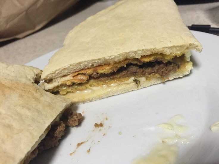 authentic jamaican beef pattie with coco breadab