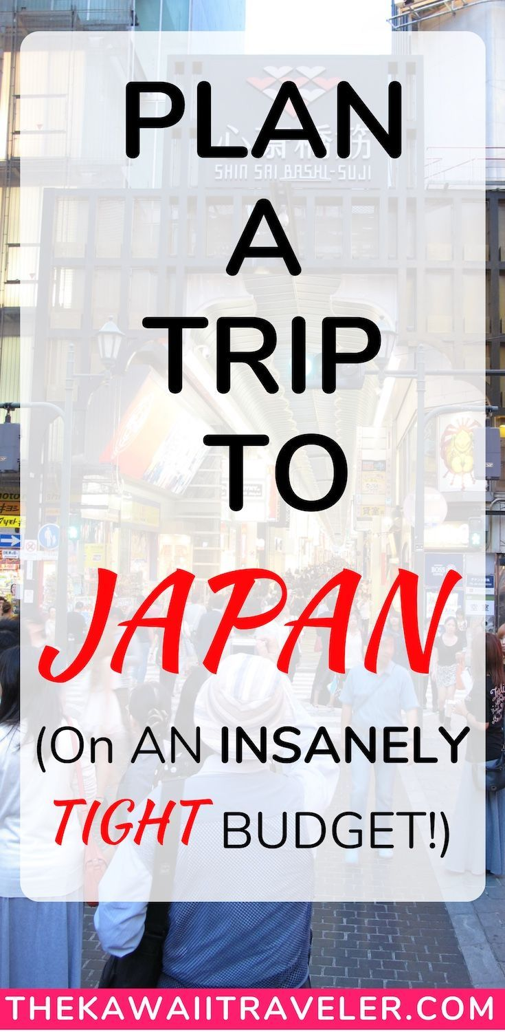 7 Easy Steps To Planning a Trip To Japan (on an Insanely Tight Budget)