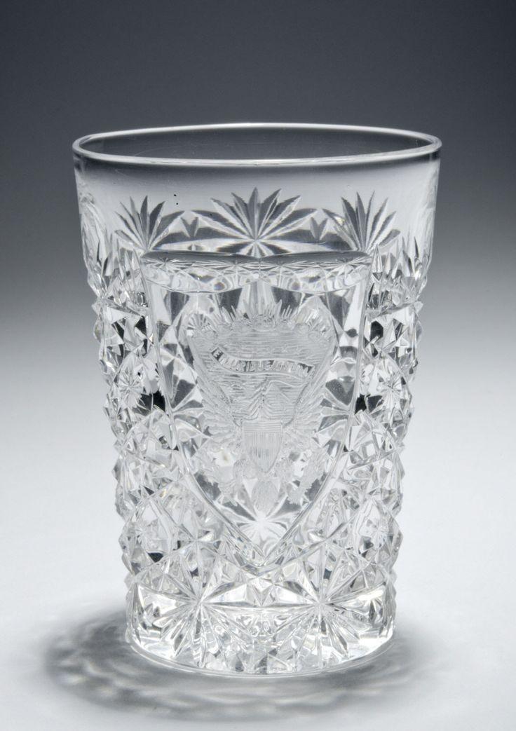 "Dorflinger, c1889, American brilliant cut glass, 3"", Philadelphia Museum of Art."