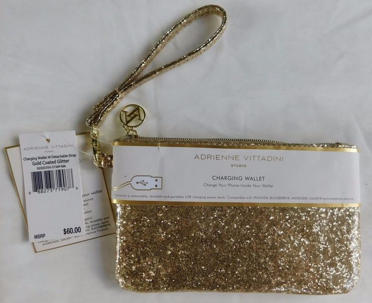 adrienne vittadini charging wallet instructions