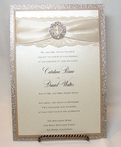 25+ best ideas about wedding invites lace on pinterest | lace, Wedding invitations