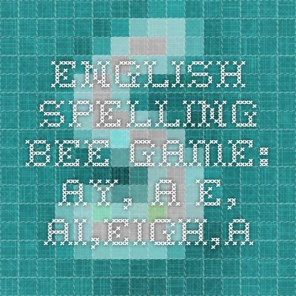 akeelah and the bee spelling words pdf