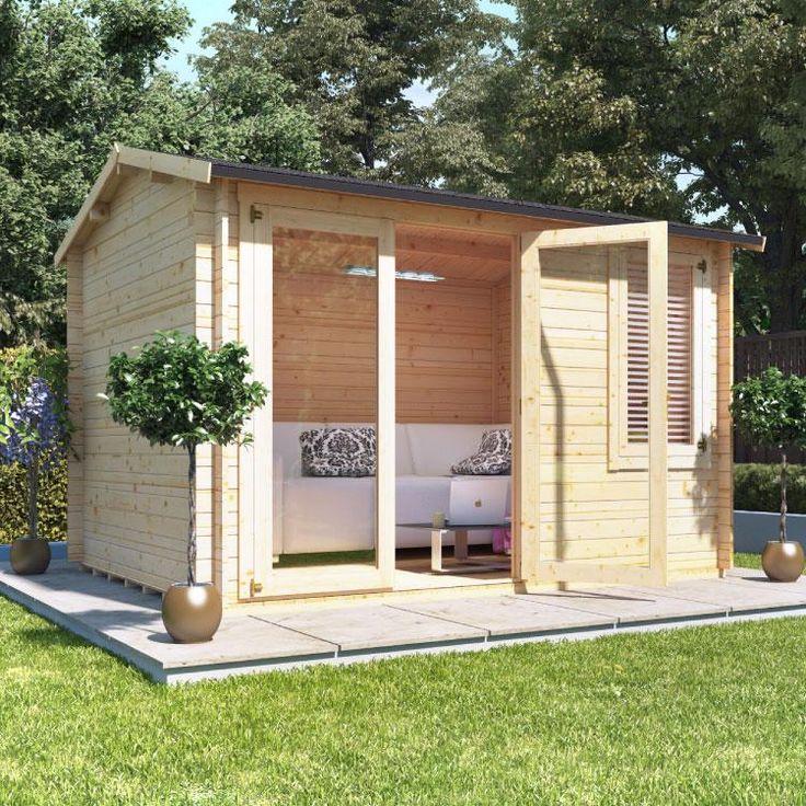 BillyOh Devon Log Cabin  - Summer Houses - Garden Buildings Direct