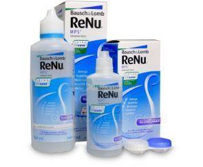 Płyn pielęgnacyjny do czyszczenia soczewek ReNu MPS 360 ml + 120 ml - Bausch&Lomb