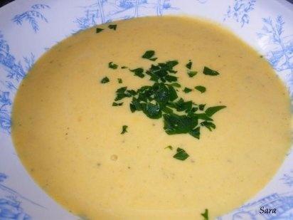 sopa fria de zanahoria