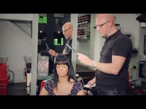 Part of the Doll Haircare team; appearing here in the trade educational videos