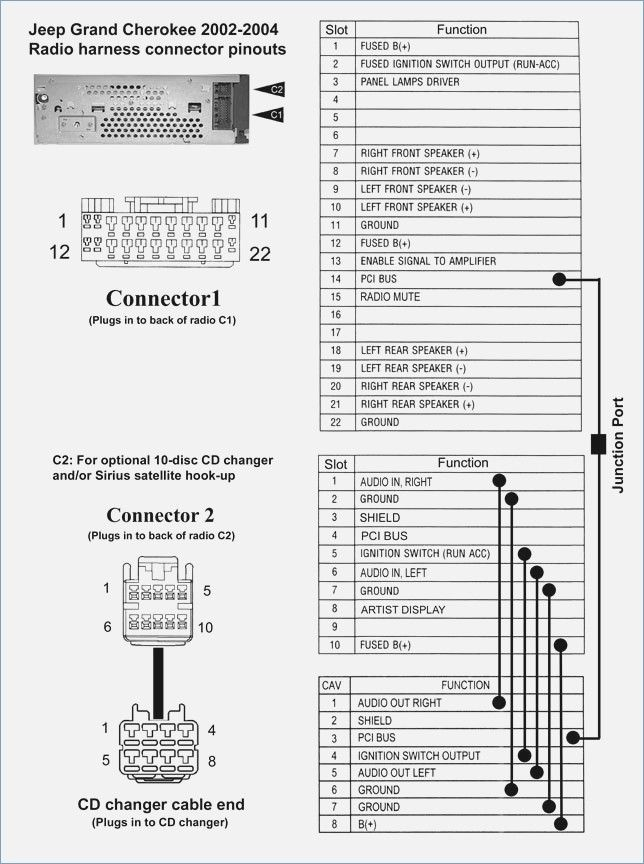 2006 Jeep Grand Cherokee Radio Wiring Diagram Valid 2000