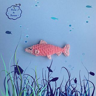 Ravelry: Pez Flaky / Flaky Fish pattern by Puntos de Fantasía