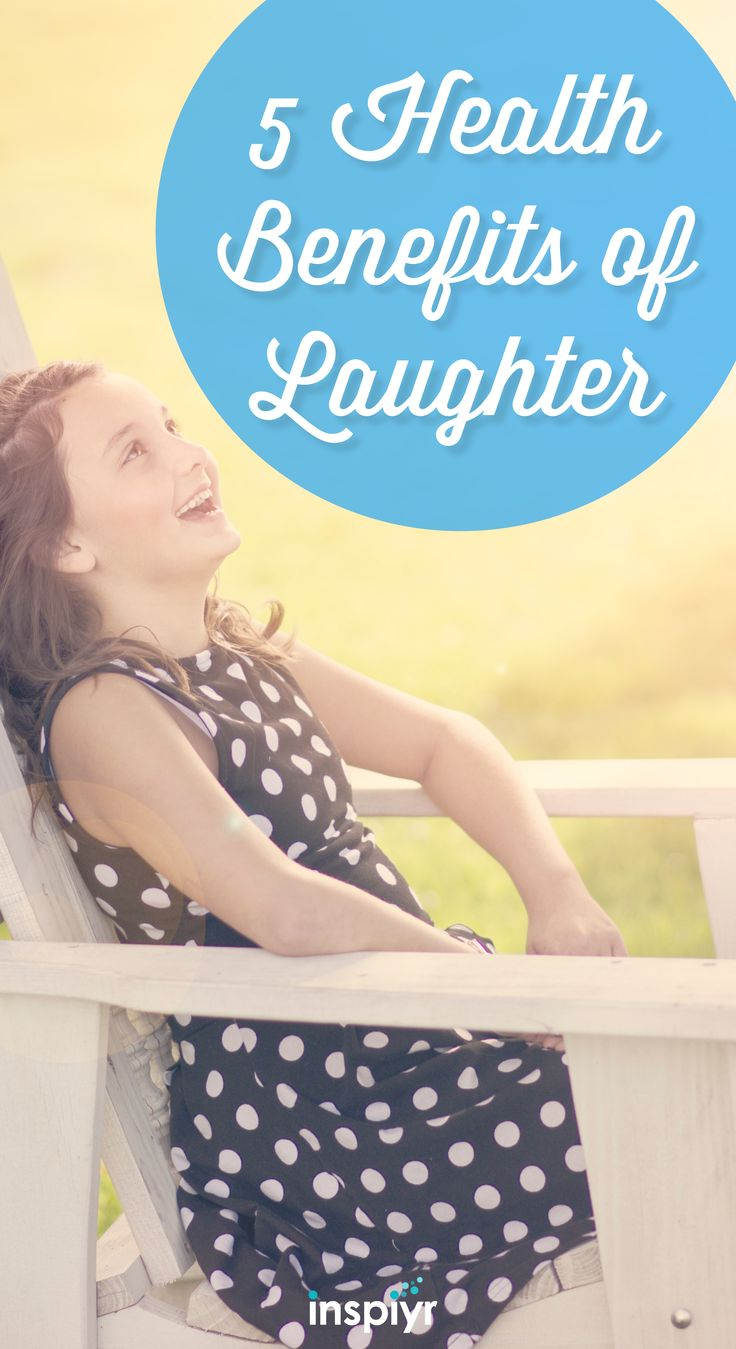 5 Health Benefits Of Laughter by Inspiyr.com // Check out how one of the most wonderful parts of life can help your health. #Inspiyr