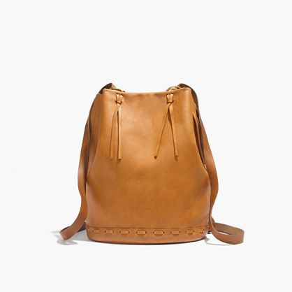 1c7c2260441dc5 The practicality of a roomy bucket bag meets the ease of a backpack in this  oh