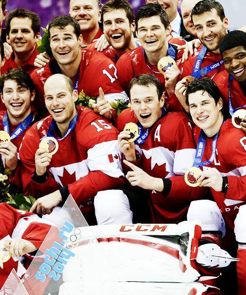 Team Canada #Sochi2014