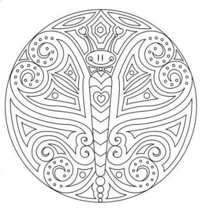 Mandala Flower Coloring Pages | Mandala Coloring Pages Mandala-coloring-pages-4 – Free Coloring Page ...