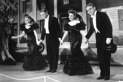 """""""My mother thanks you. My father thanks you. My sister thanks you. And I thank you."""" George M. Cohan James Cagney Yankee Doodle Dandy 1942"""