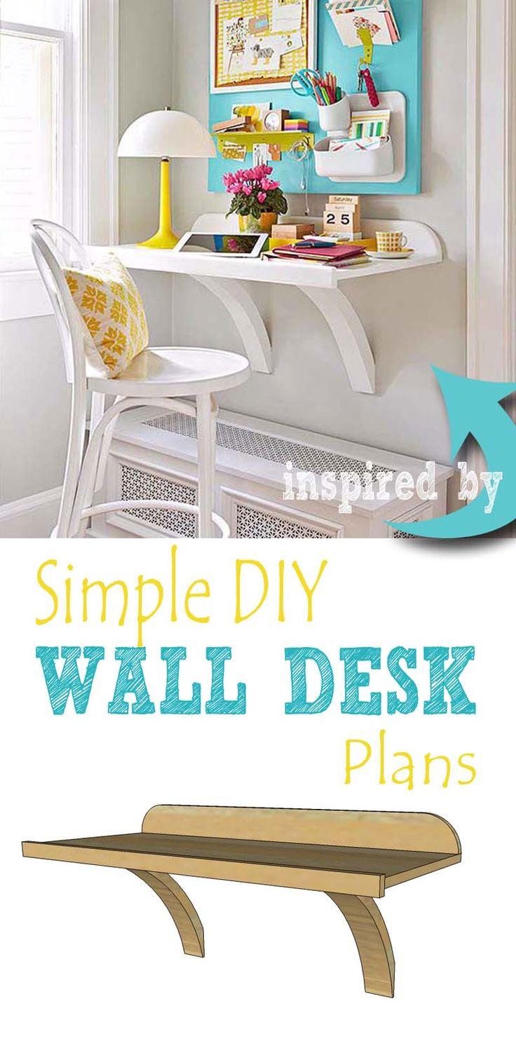 1000 ideas about simple desk on pinterest desks. Black Bedroom Furniture Sets. Home Design Ideas