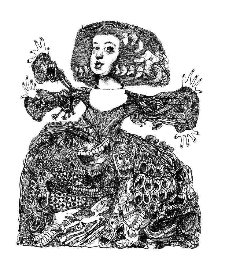 La Infanta, by Paul van der Steen