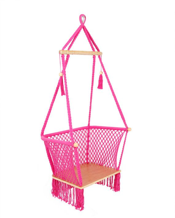 Pink Hammock Chair