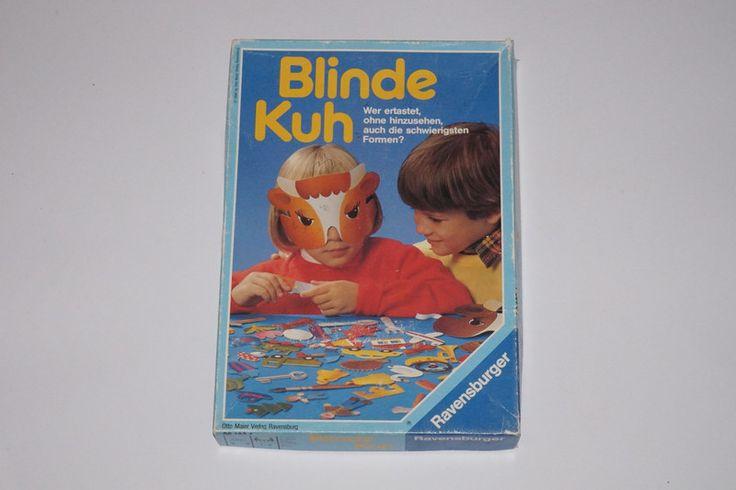 Vintage Brettspiele - Blinde Kuh Vintage Spiel - ein Designerstück von karlakarlinchen bei DaWanda