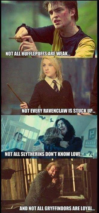 Mm I love Snape but his is incorrect. If only Andromeda was in the film...