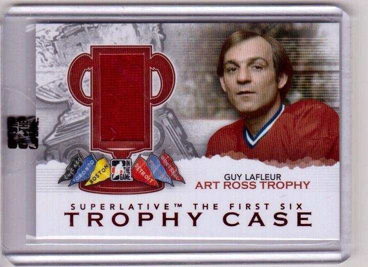 GUY LAFLEUR 12/13 ITG SUPERLATIVE Trophy Case Art Ross Jersey #TC-17 SP /19 | eBay