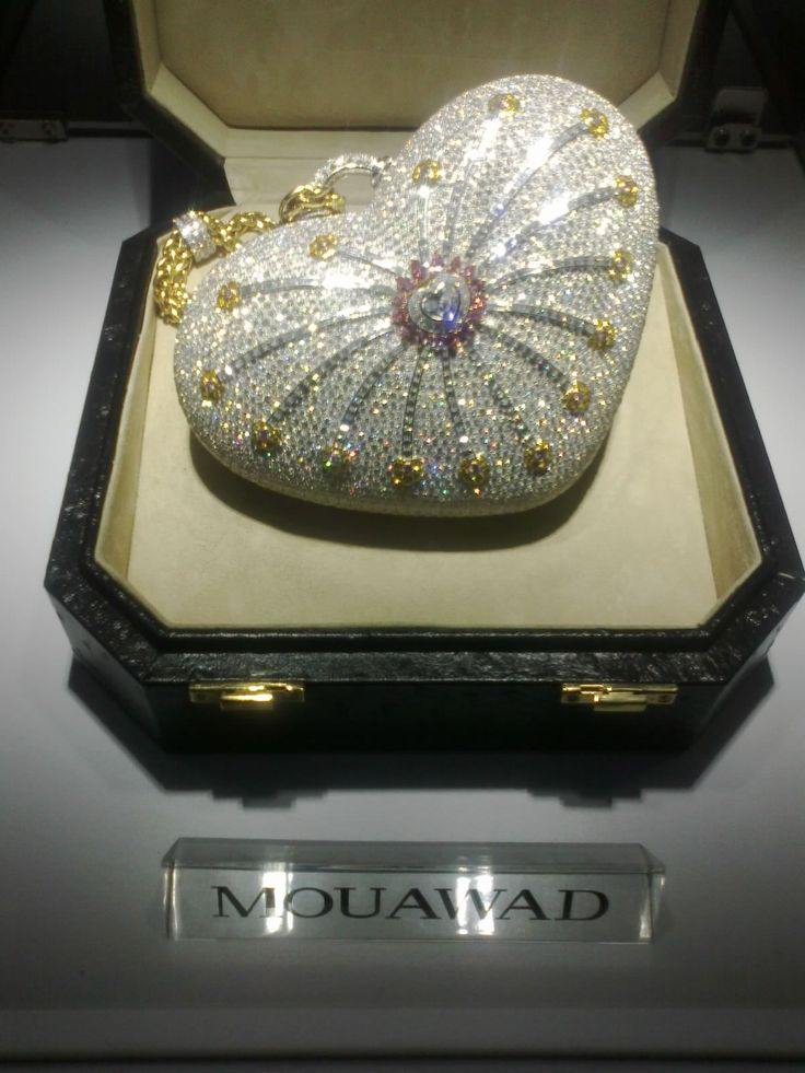 This blinged out little bag is one of the 10 most expensive handbags in the world