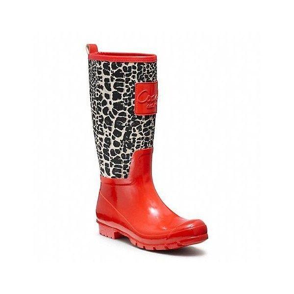 40+ Coach rain boots for women ideas info