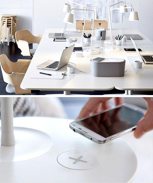 Ikeau0027S Wireless Charging Furniture U0026 Accessories