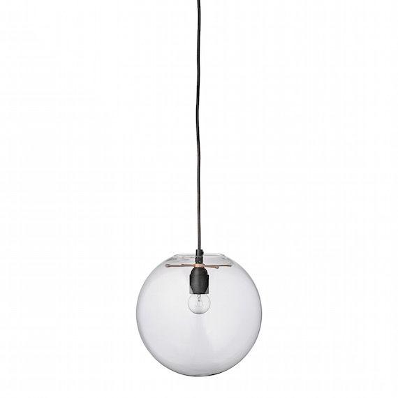 Taklampa Glasboll 40 watt   Belysning hos DEKKA