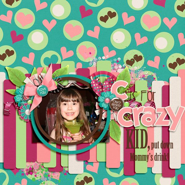 Irresistible by Artgal Style Alphabetty Template #3 by Inspired by You Designs