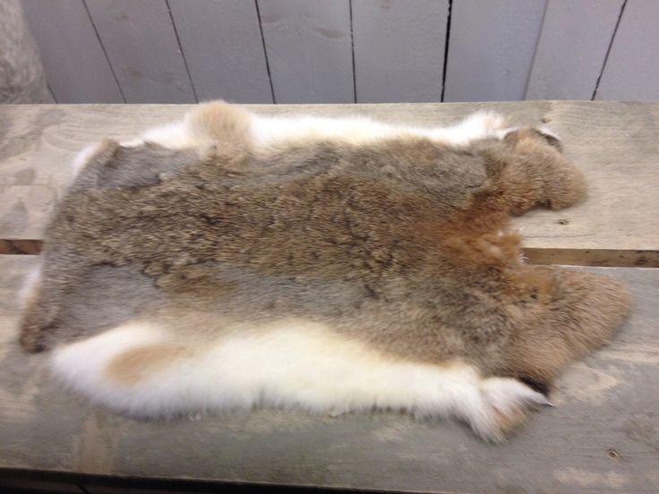 Bont konijnenvachtje
