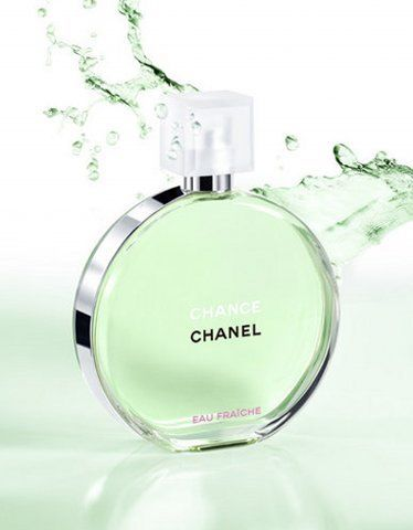 Chanel Chance eau Fraiche. Love the smell. It's like a crisp smell that can be worn on teens, compared to No.5, which is for the mature ladies.