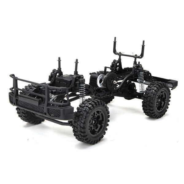 High Quality RC Car Kit for HG P402 1/10 RC Car Remote Control Kit Without Electronic Parts Drive Roadster Climbing Car Hobbies