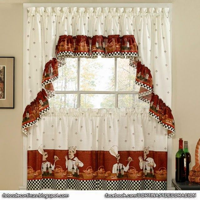 Cortinas Para Cocina Fotos - Ideas De Disenos - Ciboney.net