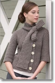 Bow sweater pattern