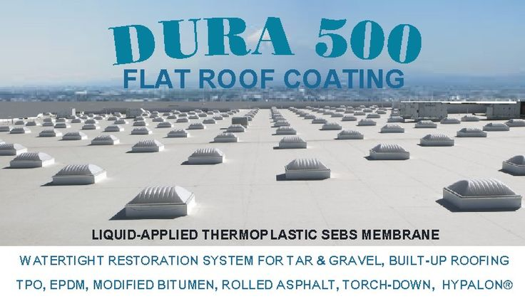 Flat Roof Coating Waterproofing   BUR   Mod-Bit   EPDM   TPO