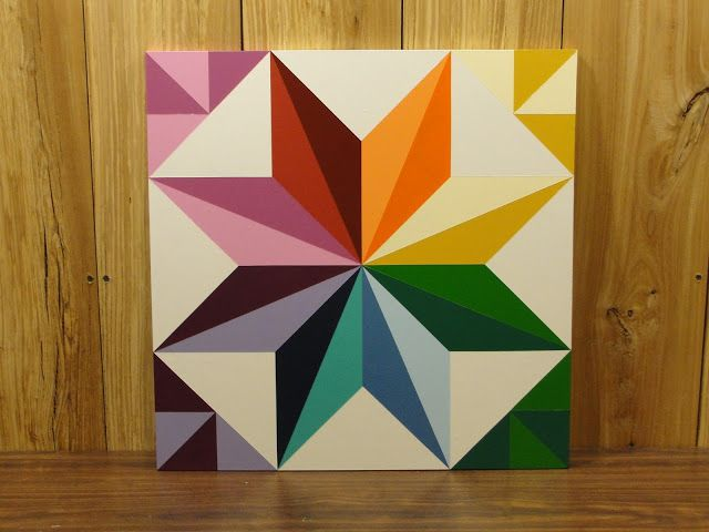 Bentley Barn Quilts: RAINBOW STAR FOR SALE