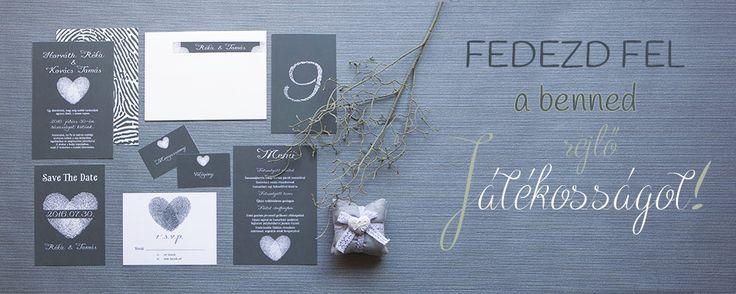 Modern Wedding Invitation, Fingerprint Wedding Invitation, Wedding Invitation, RSVP Card, Table number, Place card, menu card, Save The date card