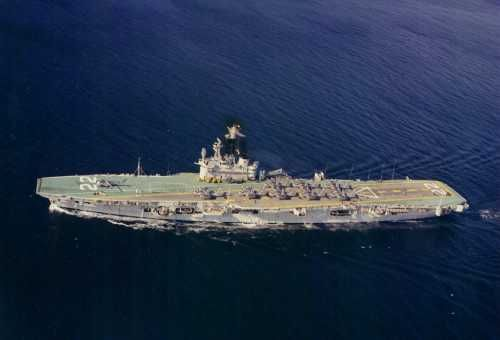 Her Majesty's Canadian Ship (HMCS) Bonaventure-Canada's last aircraft carrier