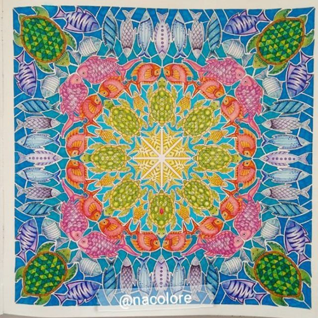 56 Best Lost Ocean Page 4 Square Turtle Mandala Images On