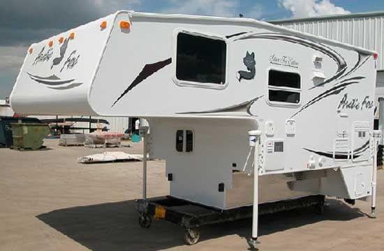 Northwood Arctic Fox truck camper exterior 3